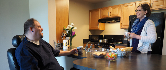 Bradley Crossing Supportive Housing Community: Amenities